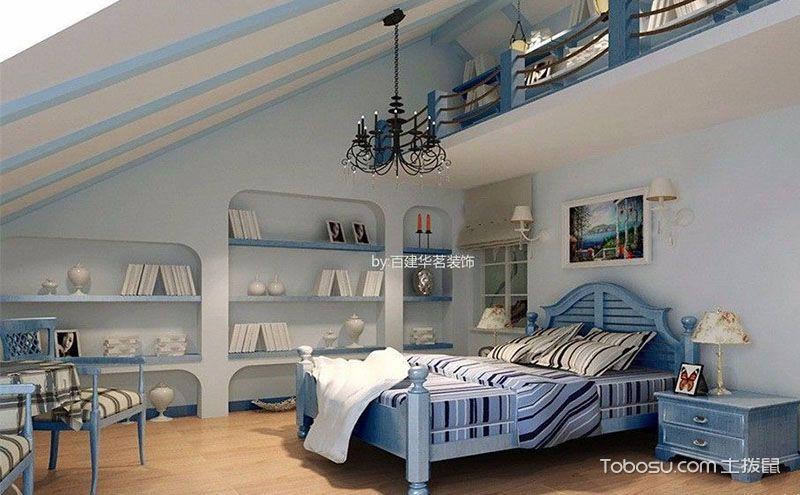 经典卧室阁楼装修效果图,将缺点巧变优点