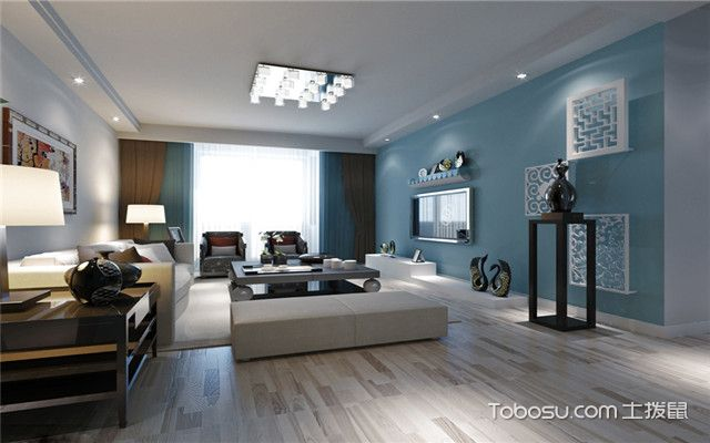 简欧式客厅装修设计