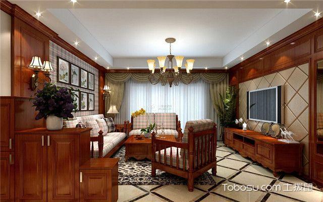 美式风格客厅特点