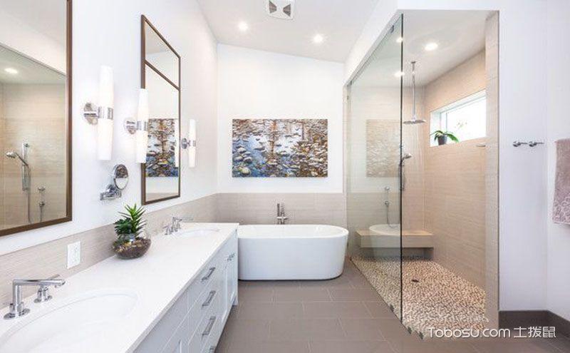 10平米卫生间装修效果图,打动人心的舒适设计