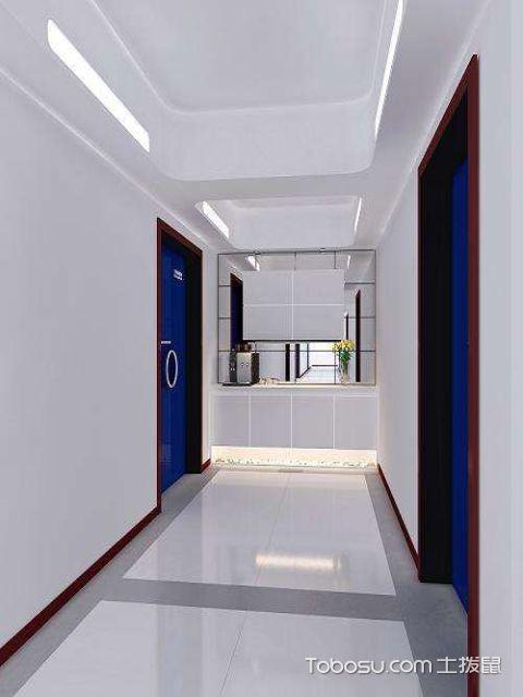 客厅走廊风格与客厅要一致