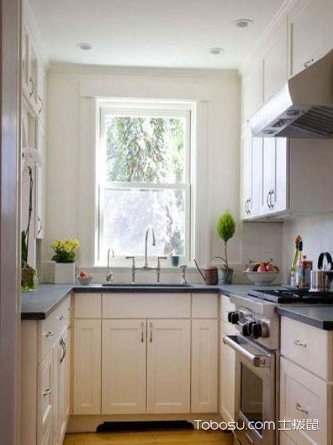 小户型厨房简约装修设计