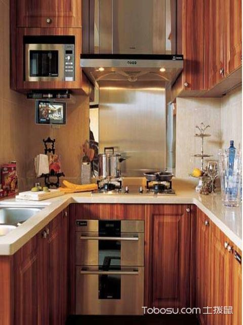 小户型厨房橱柜搭配
