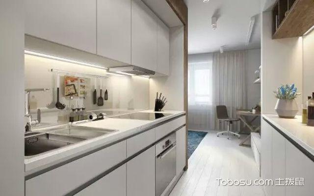 小户型厨房推荐开放式设计