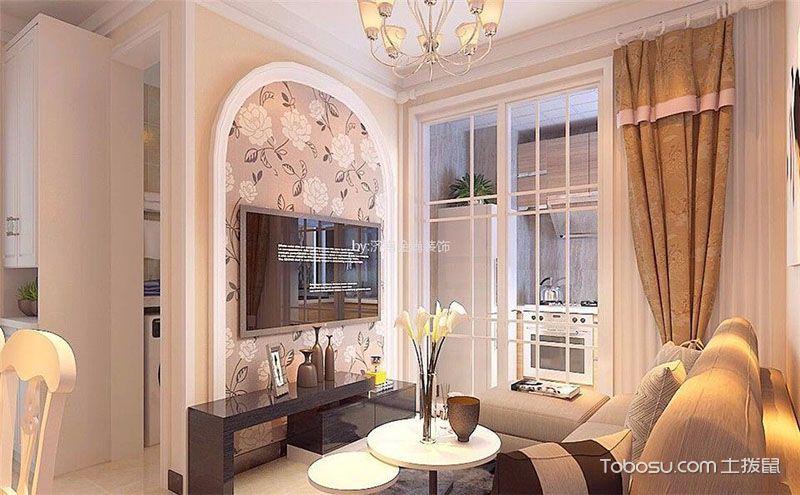 客厅电视墙装修效果图大全,墙壁也能精彩纷呈