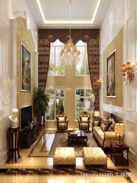 别墅客厅挑空装饰