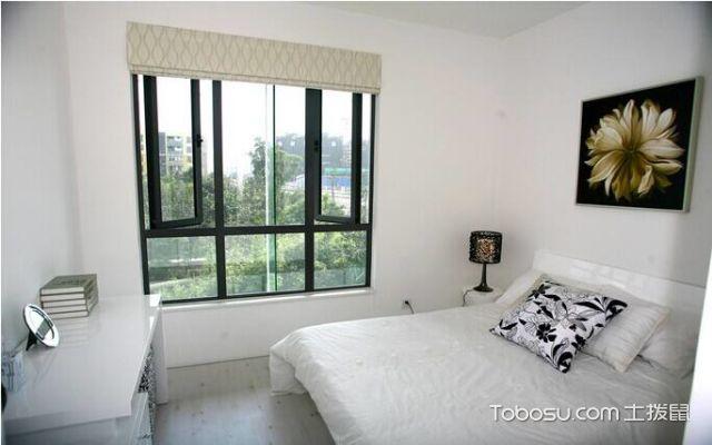 卧室平开窗设计