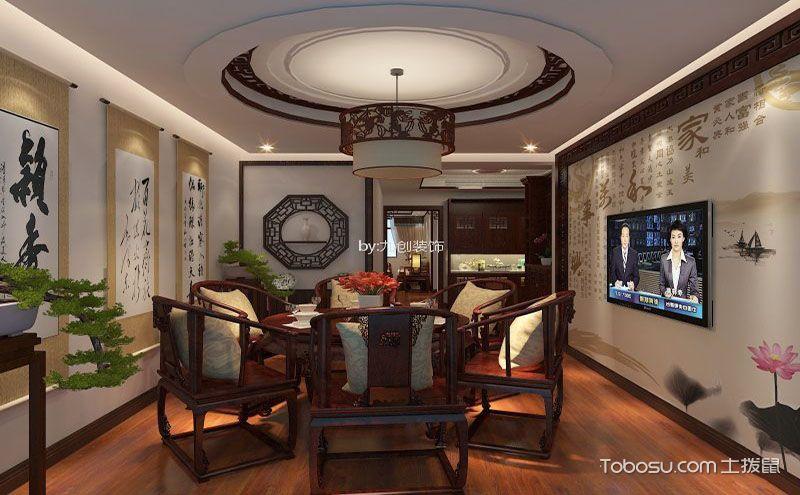 八款餐厅家装吊顶效果图,经典设计不得不赞