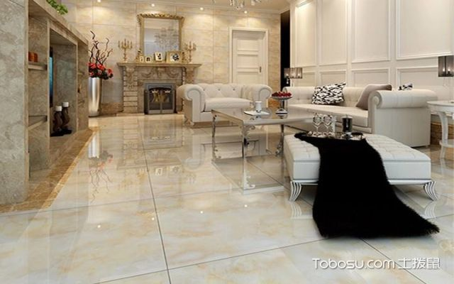 客厅瓷砖铺贴注意色彩搭配