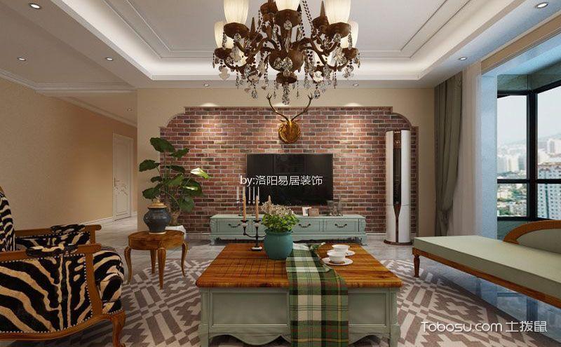美式客厅装修效果图大全,造就客厅不一样的美
