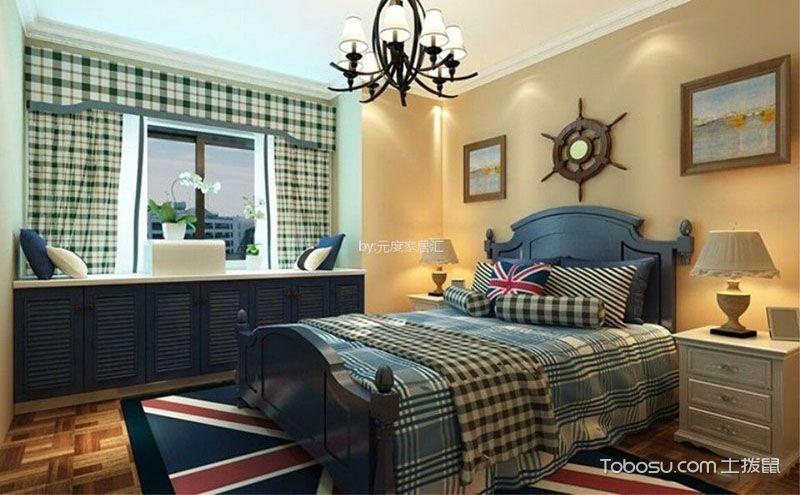地中海卧室飘窗设计效果图,让海风吹进屋里来