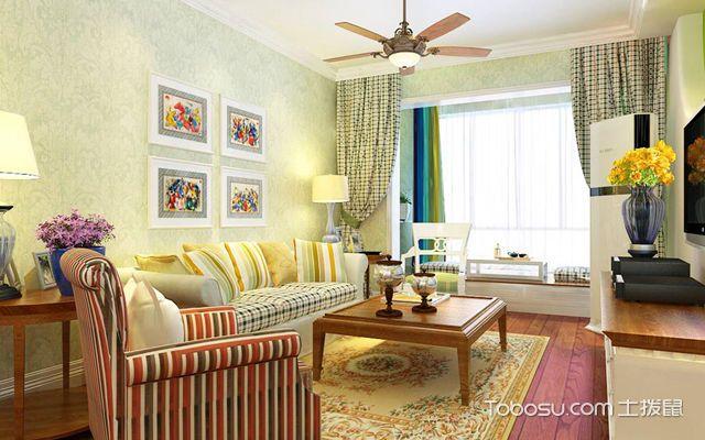 长沙公寓客厅装修图片欣赏_土拨鼠长沙公寓客厅装修效果图