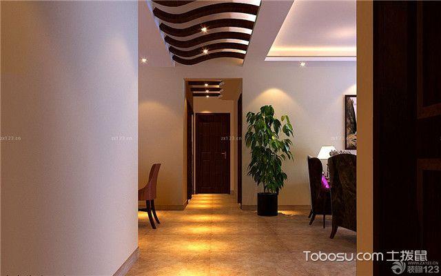 走廊装修效果图_客厅走廊吊顶装修图