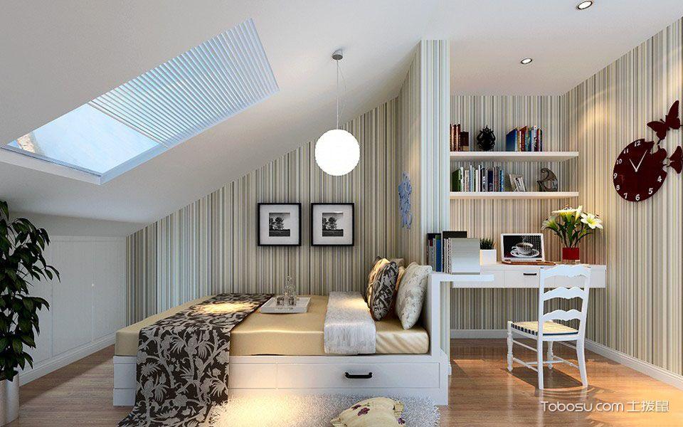 现代简约阁楼卧室装修设计