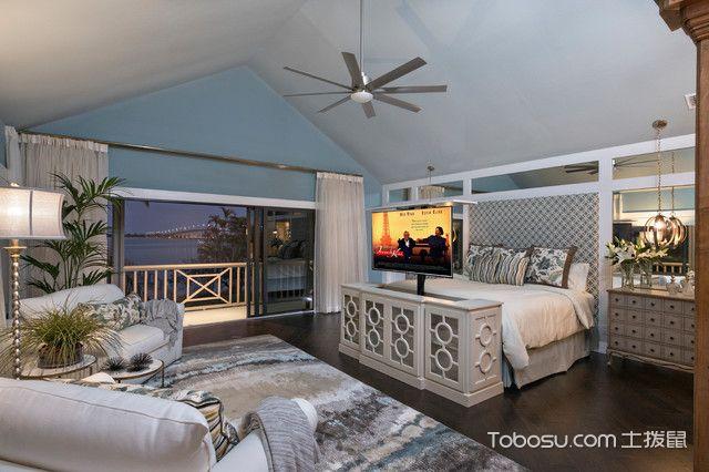 简美阁楼卧室装修设计