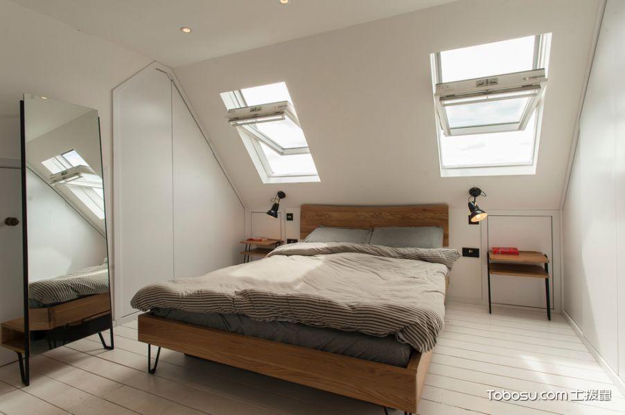 北欧风格阁楼卧室装修设计