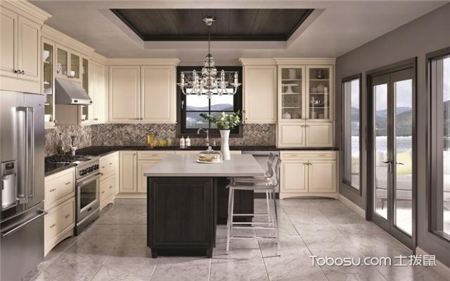 装修厨房瓷砖颜色搭配