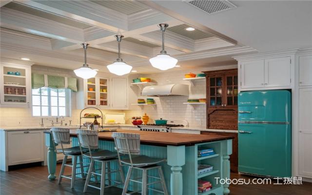 厨房瓷砖颜色搭配