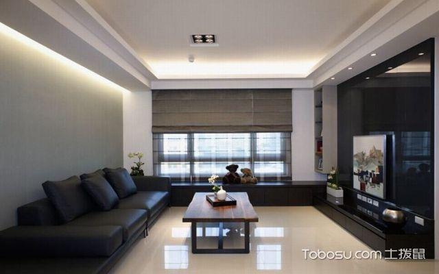 宜兴90平米房客厅装修费用