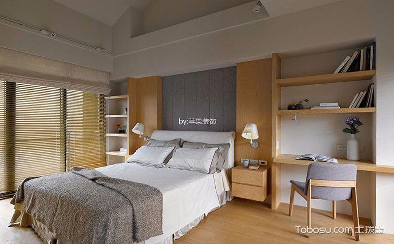 90平米室内装修效果图,12万打造简约复式楼