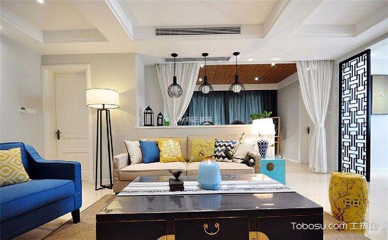 客厅隔断设计效果图片,用创意装扮新家