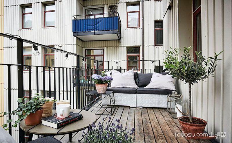 休闲阳台装修效果图,打造你的休闲空间