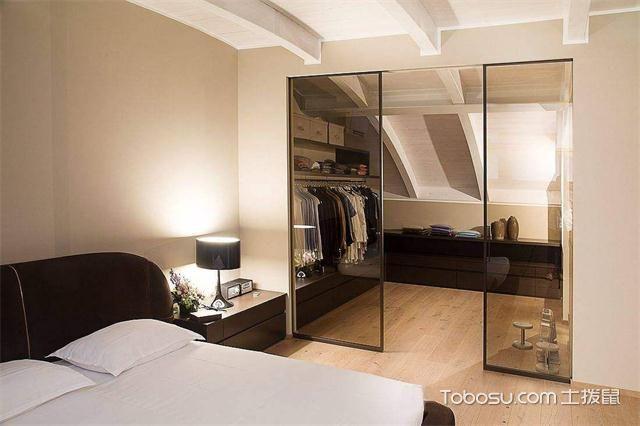 2017大年夜户型卧室更衣室装修后果图复式