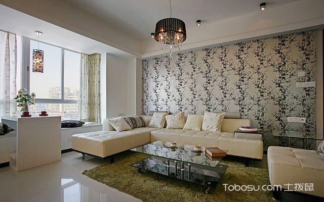 90平米房子客厅