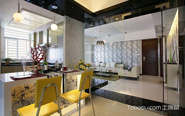 90平米房子餐厅设计