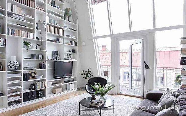 2017北欧大户型书房设计之家具摆放
