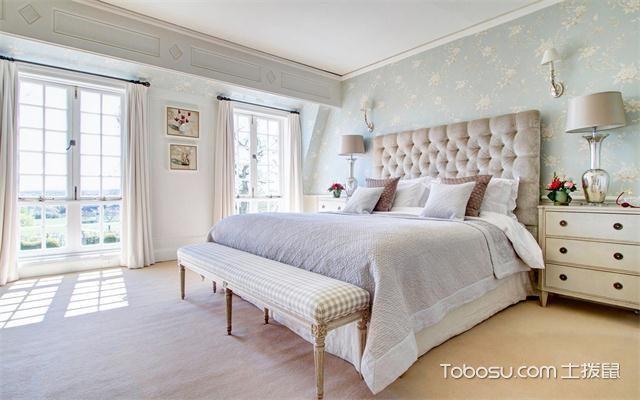 现代风格女生卧室怎么样之落地窗