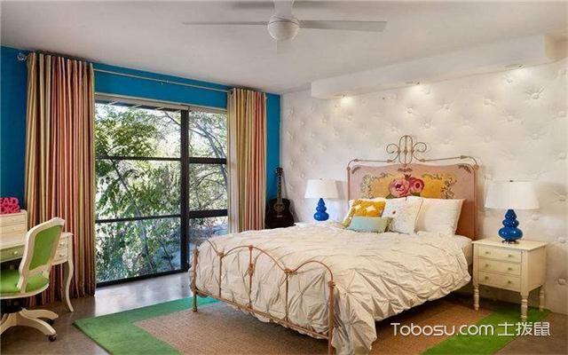 现代风格女生卧室怎么样之吊扇灯