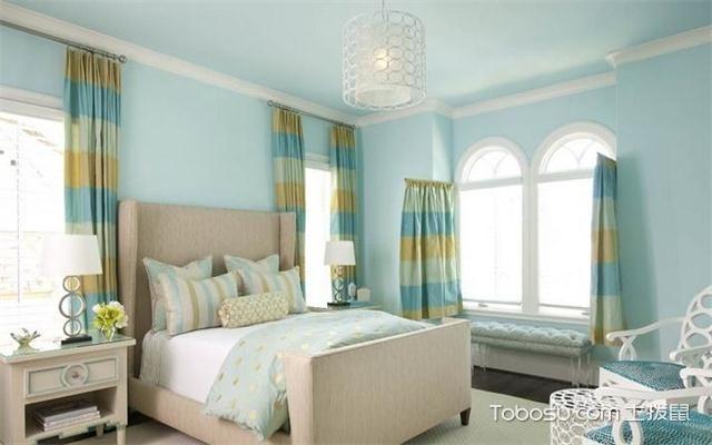 现代风格女生卧室怎么样之窗帘