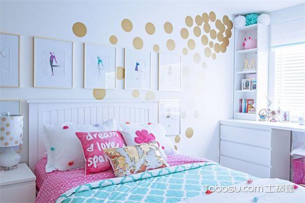 现代风格女生卧室怎么样之置物架