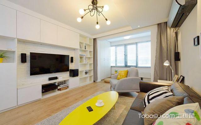 广州110平米装修预算 简装客厅