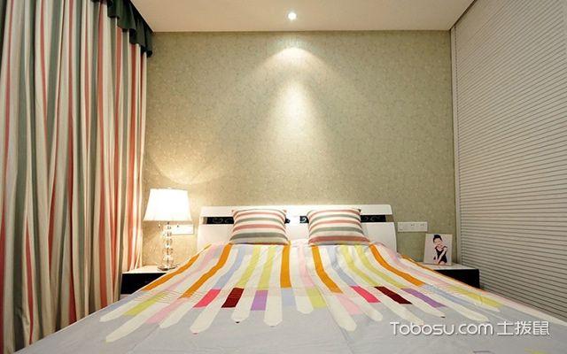 杭州三室两厅简约风格次卧设计