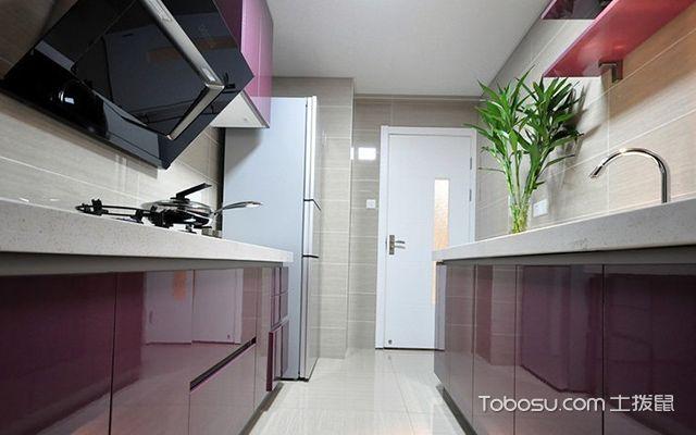 杭州三室两厅简约风格厨房设计