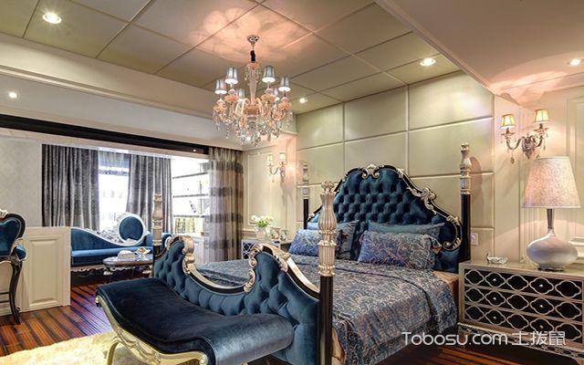 简美风格卧室装修设计图之古典美式