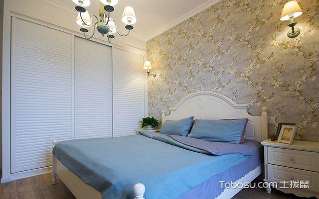 简美风格卧室装修设计图之田园美式