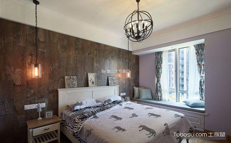 卧室飘窗装饰效果图,让卧室多一处休闲空间