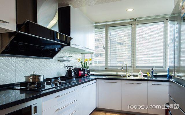 福州100平米现代简约装修案例厨房