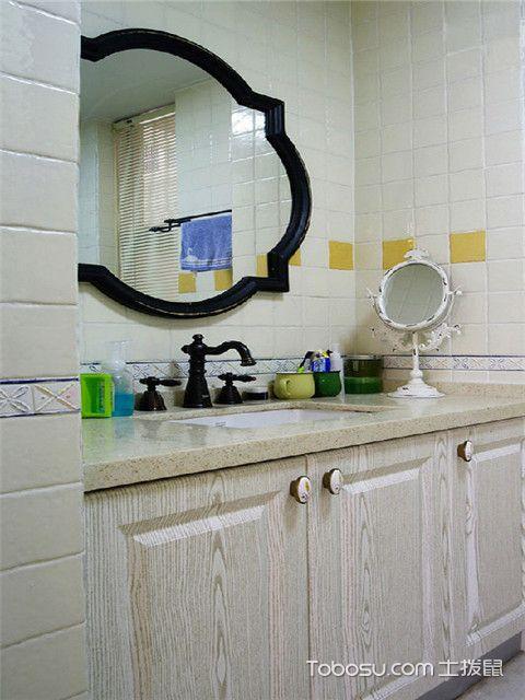 南京90平米装修效果图之卫生间