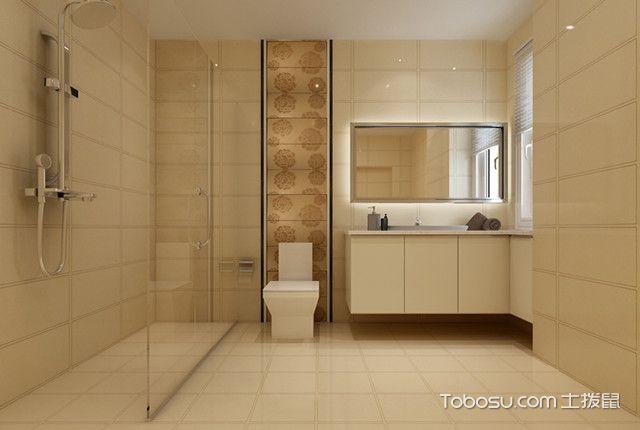 140平现代简约装修风格卫生间