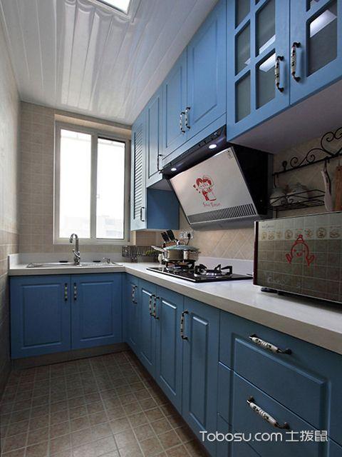 小厨房装修设计遵循的原则之地中海厨房