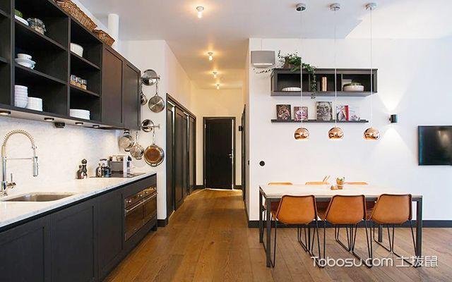 徐州95平米简欧时尚装修案例厨房