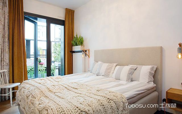 徐州95平米简欧时尚装修案例卧室