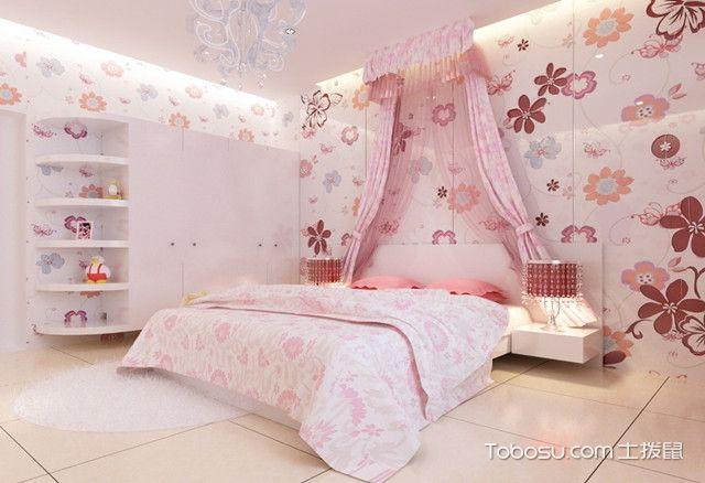 韩式女生卧室装修风格