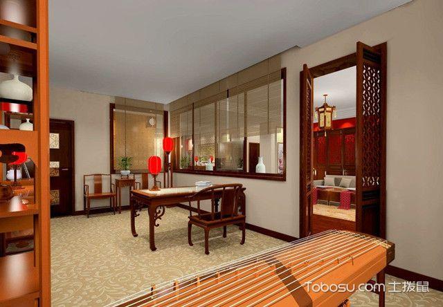 古典中国式书房装修风格