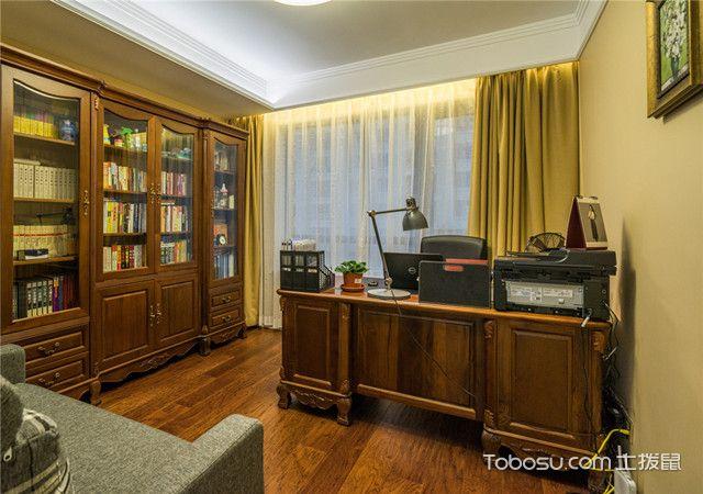 现代中国式书房装修风格