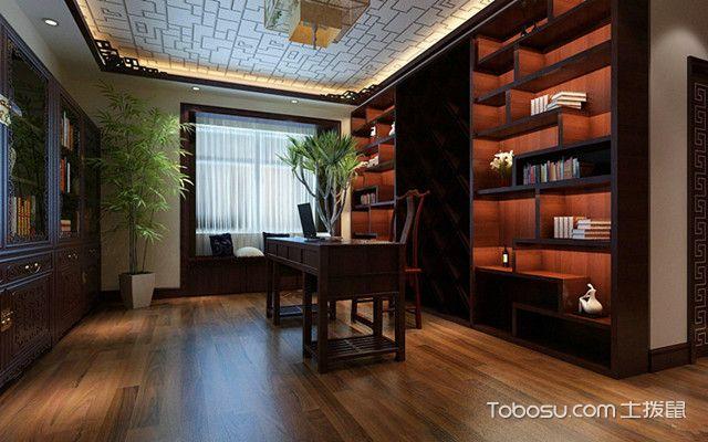 新中国式书房装修风格